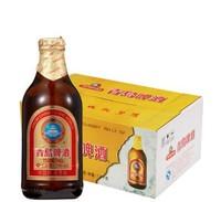 青岛啤酒 金质小瓶棕金小麦醇正整箱畅饮296ml*24瓶装 *3件