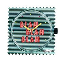 S.T.A.M.P.S. 诗坦 Blah Blah Blah 104804 叭叭叭邮票腕表