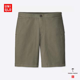 UNIQLO 优衣库 tomas maier合作款 410186 男士松紧短裤