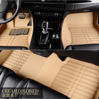 卡卡西 专车定制全包围汽车脚垫皮革脚垫
