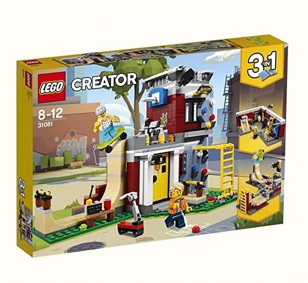 23日:LEGO 乐高 创意百变系列 31081 滑板玩乐屋