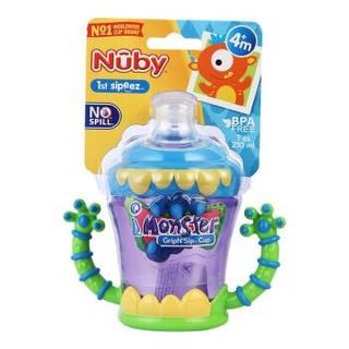 Nuby 努比 双耳鸭嘴杯 小怪兽 210mL *2件