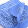 LAMPO 蓝豹 CG08150 全桑蚕丝蓝底浅蓝印花口袋巾手帕