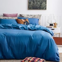 DAPU 大朴 纯棉缎纹纯色被套  1.8米床