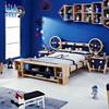 华日 BlueBlue 蓝蓝部落 T19640910 实木儿童床 ET宇宙飞船