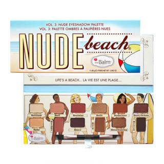 欧美春夏特卖 : theBalm Nude Beach 12色眼影盘 11.08g