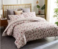 当当优品 四件套 1.5-1.8床双人纯棉床单款床品 桃花源+凑单品