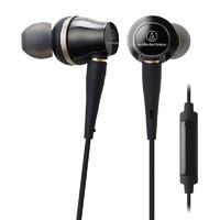 audio-technica 铁三角 ATH-CKR100iS 入耳式耳机 黑色