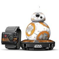 历史低价 : Sphero Star Wars 星球大战 BB-8 遥控智能球型机器人(战损版、附带原力手环)