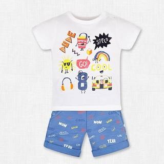 mothercare 男童 T恤短裤两件套