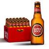 葡萄牙原瓶进口 超级波克(SuperBock) 经典黄啤 250ml*24 小瓶 整箱啤酒 *4件 382元(合95.5元/件)