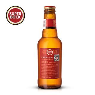 SUPER BOCK 超级波克 经典黄啤 250ml*24瓶