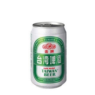TAIWAN BEER 台湾啤酒 金牌啤酒 330ml*6听装