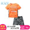 618预售:The ChildrensPlace/绮童堡 男童套装短袖短裤小童运动两件套 69.00元