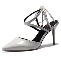 Luiza Barcelos 漆皮系带高跟鞋