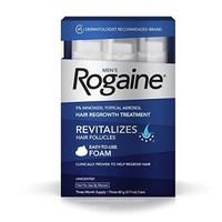 凑单品:Rogaine 落健 Hair Regrowth Treatment 男用生发泡沫(60g*3支)
