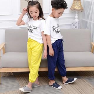 小牛吽吽 儿童防蚊裤休闲灯笼裤