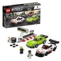 LEGO 乐高 超级赛车速度冠军系列 75888 保时捷911 RSR *2件
