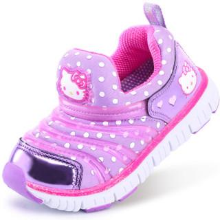 Hello Kitty 凯蒂猫 儿童毛毛虫运动鞋 *2件