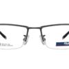 FILA 斐乐 纯钛 男士半框眼镜架