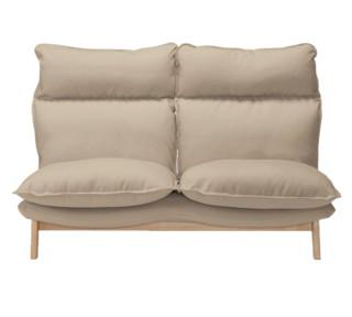 MUJI 无印良品 高靠背可伸缩沙发