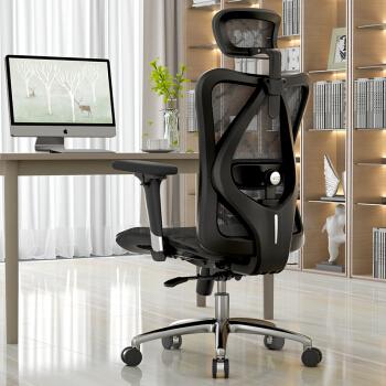 SIHOO 西昊 M57 电脑椅 经典黑色