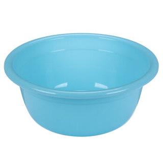 加品惠 JY-0654 塑料盆 37cm 蓝色 *19件