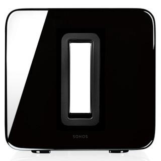 SONOS SUB 音响 音箱 家庭智能音响系统  音响 WiFi无线 家庭影院 低音炮(黑色)