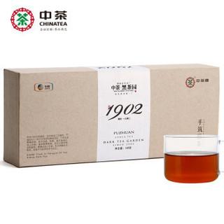 中茶 安化黑茶 传世1902手筑福茶礼盒 168g *2件