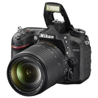 Nikon 尼康 D7200(18-140mm f/3.5-5.6G ED VR)单反套机