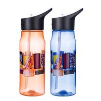 艾蒙多运动吸管杯随手杯水壶男女水杯便携户外旅行杯子EPBD-800