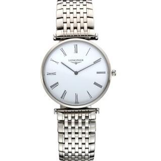 历史低价 : LONGINES 浪琴 Longines La Grande 嘉岚系列 L4.709.4.11.6 男士时装腕表