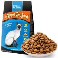 京东PLUS会员 : Sea Kingdom 海鲜王国 宠物 皇室成猫猫粮 6.8kg *2件