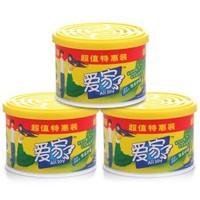 爱家 固体清香剂 快乐柠檬 88g*3