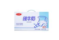 三元 经典小方白全脂纯牛奶250ml*24牛奶