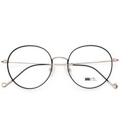 HAN 汉代 HD4840 金属眼镜架+1.56防蓝光近视镜片