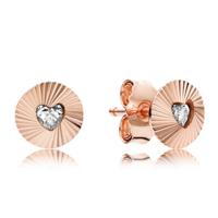 PANDORA 潘多拉 287297CZ 复古扇形耳环