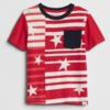 Gap 盖璞 男婴幼童 纯棉印花短袖T恤 39元