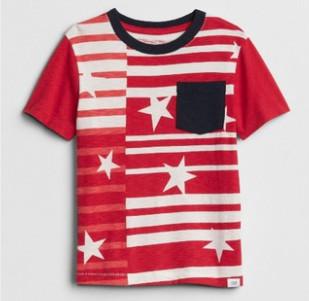 Gap 盖璞 男婴幼童 纯棉印花短袖T恤