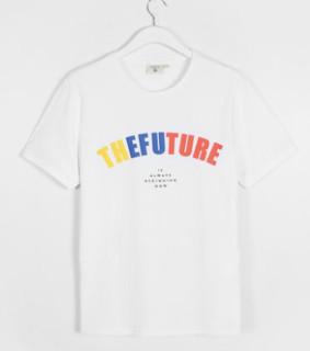 C&A ECD218009-6 男士字母印花T恤