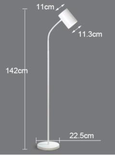 Philips 飞利浦 灵欣系列LED落地灯 鹅颈灯臂金属灯罩 142cm