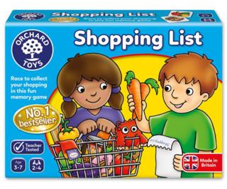 Orchard Toys 桌面游戏 采购清单