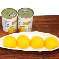 四菱 糖水黄桃罐头 425g*5罐