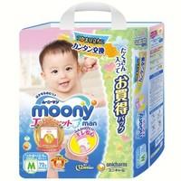 moony 尤妮佳 婴儿拉拉裤 M72片