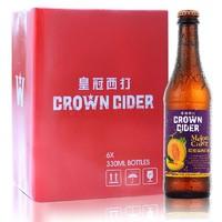 CROWN CIDER 皇冠西打 哈密瓜西打酒 330ml*6瓶