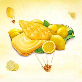 康师傅 3+2 甜酥夹心饼干 清新柠檬味