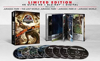 《侏罗纪公园四部曲》25周年收藏版 蓝光影碟