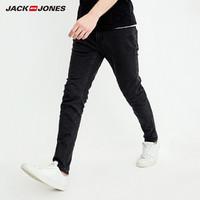 JackJones 杰克琼斯 218132547 男士修身小脚牛仔裤