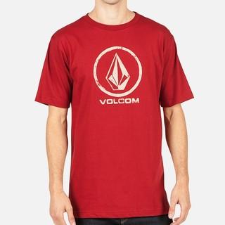 VOLCOM A351170 男士桶织纯棉T恤 *2件