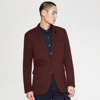 ME&CITY 男士修身西装外套